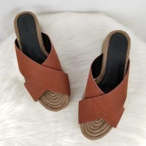 All Saints Harlem Platform Sandals